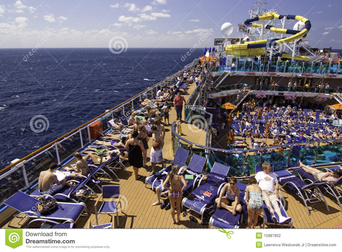 carnival cruise ship diagram wiring for car audio equalizer relaxing on deck editorial photography