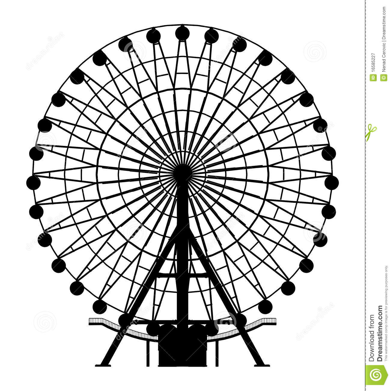 Carousel Vector 04 Royalty Free Stock Photography