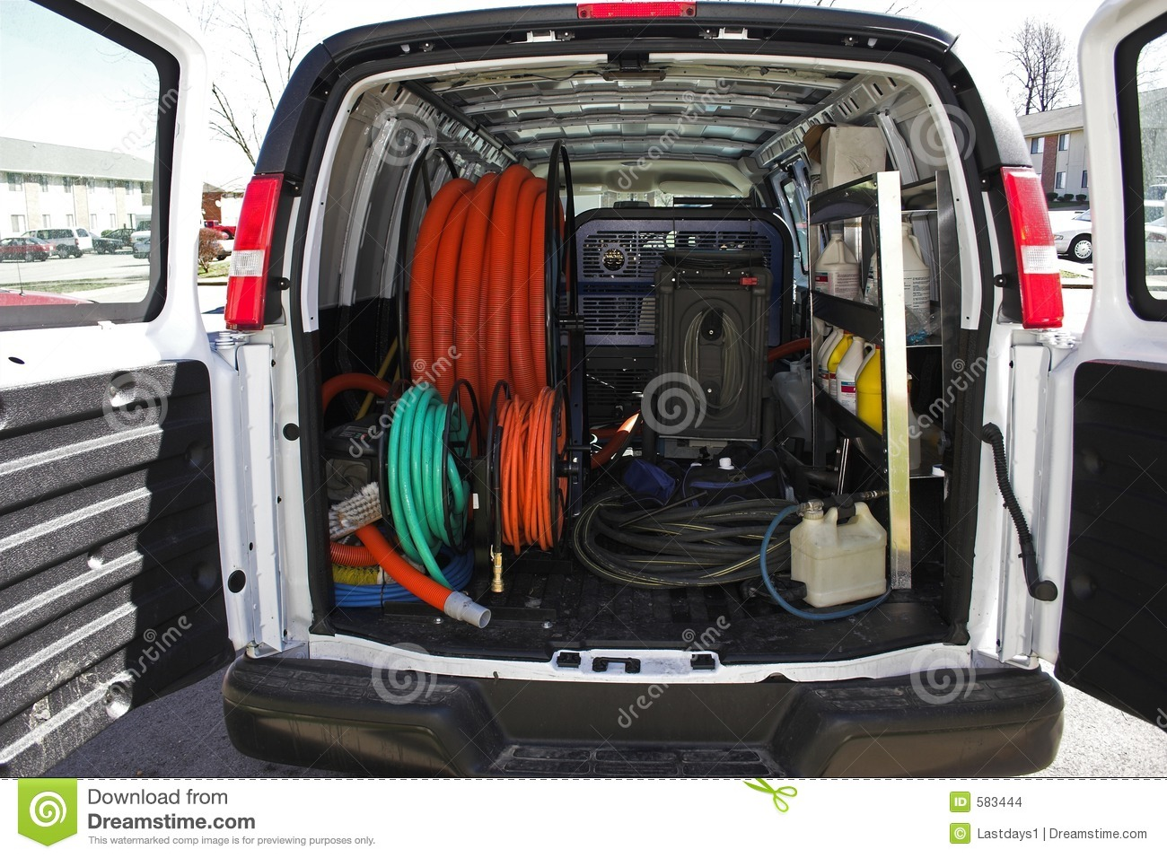 Carpet cleaning van 4 stock photo Image of labor extract