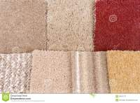Carpet Selection Royalty Free Stock Photography