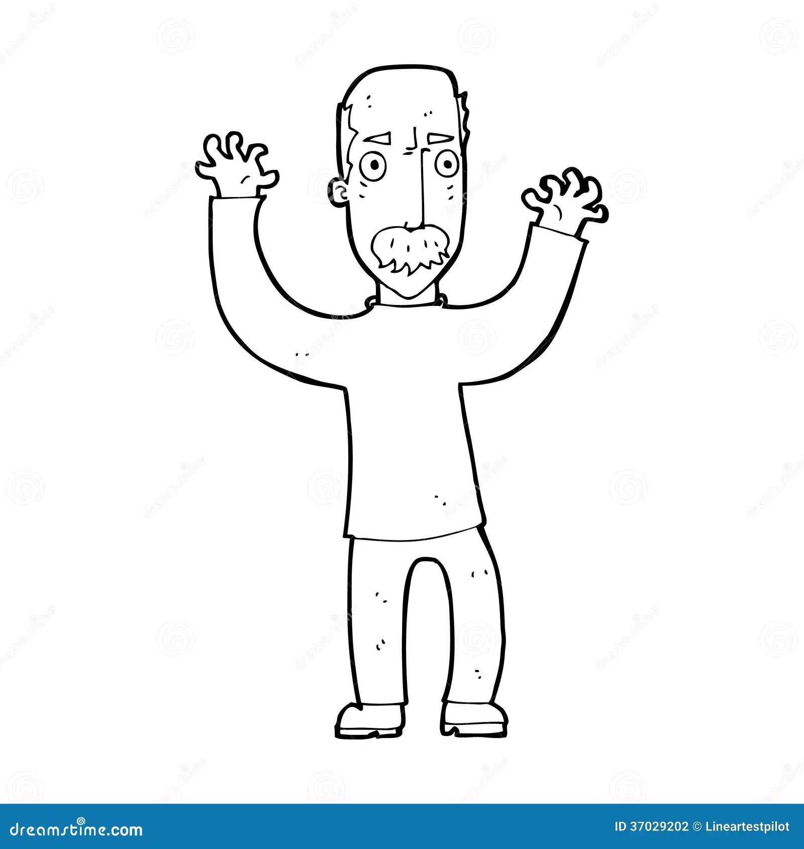 Cartoon Angry Dad Stock Illustration Illustration Of