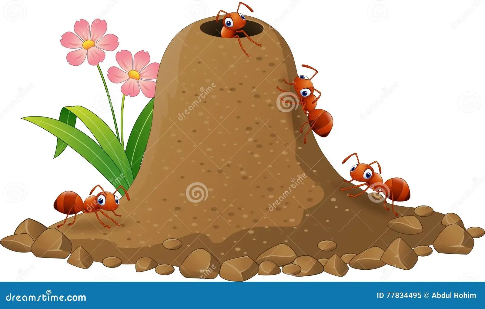 Cartoon Ant Stock Photo