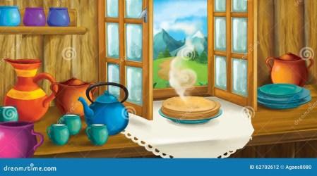 Cartoon Fairytale Kitchen