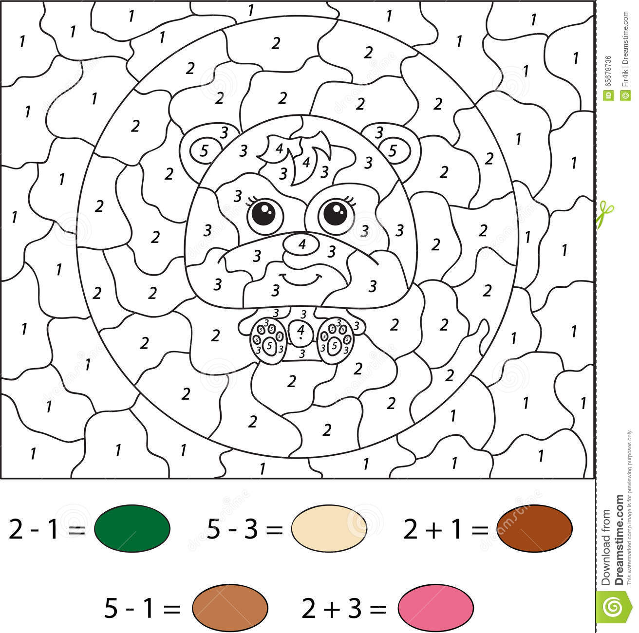 Bear Puzzle Preschool Printable Worksheets Bear Best