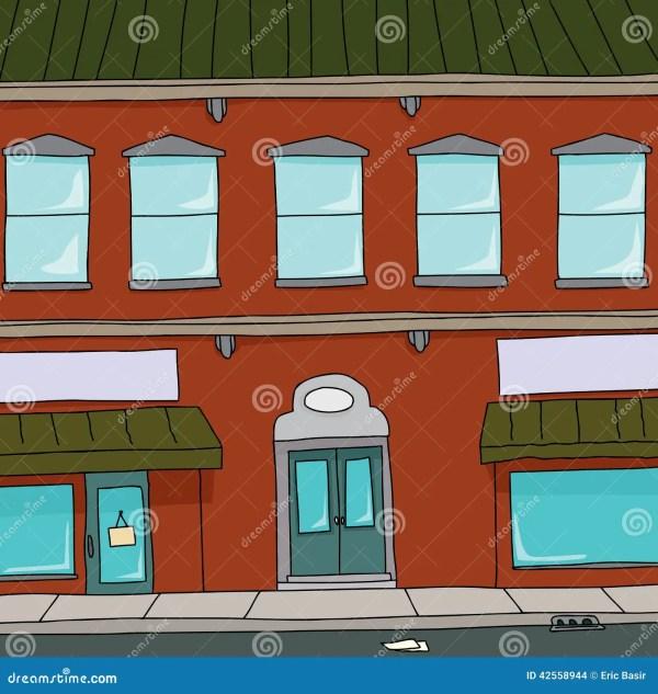 Cartoon Building Stock Vector. Illustration Of Store