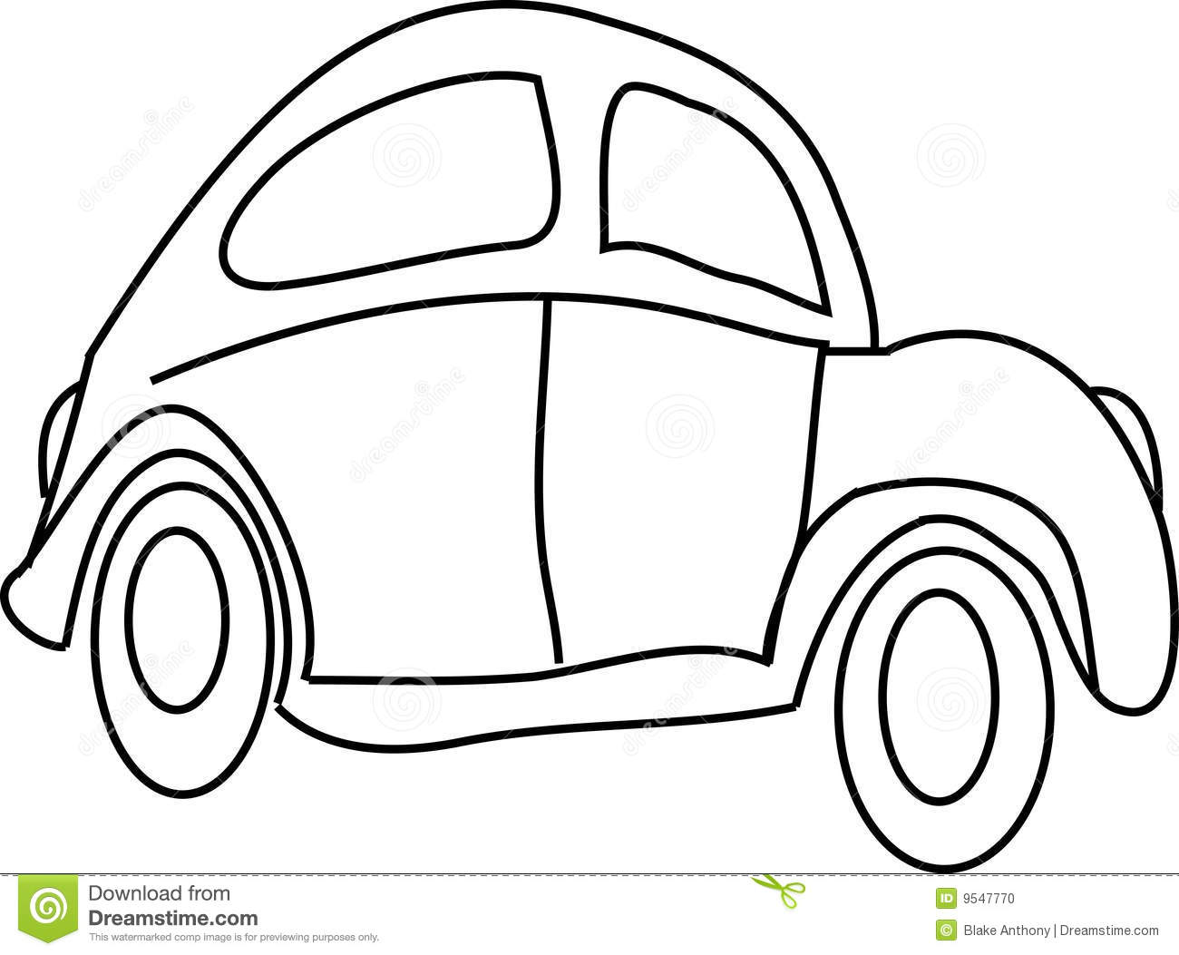 Cartoon Car Stock Vector Image Of Funny Front Layout
