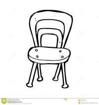 Cartoon chair stock illustration. Image of quirky, drawn ...