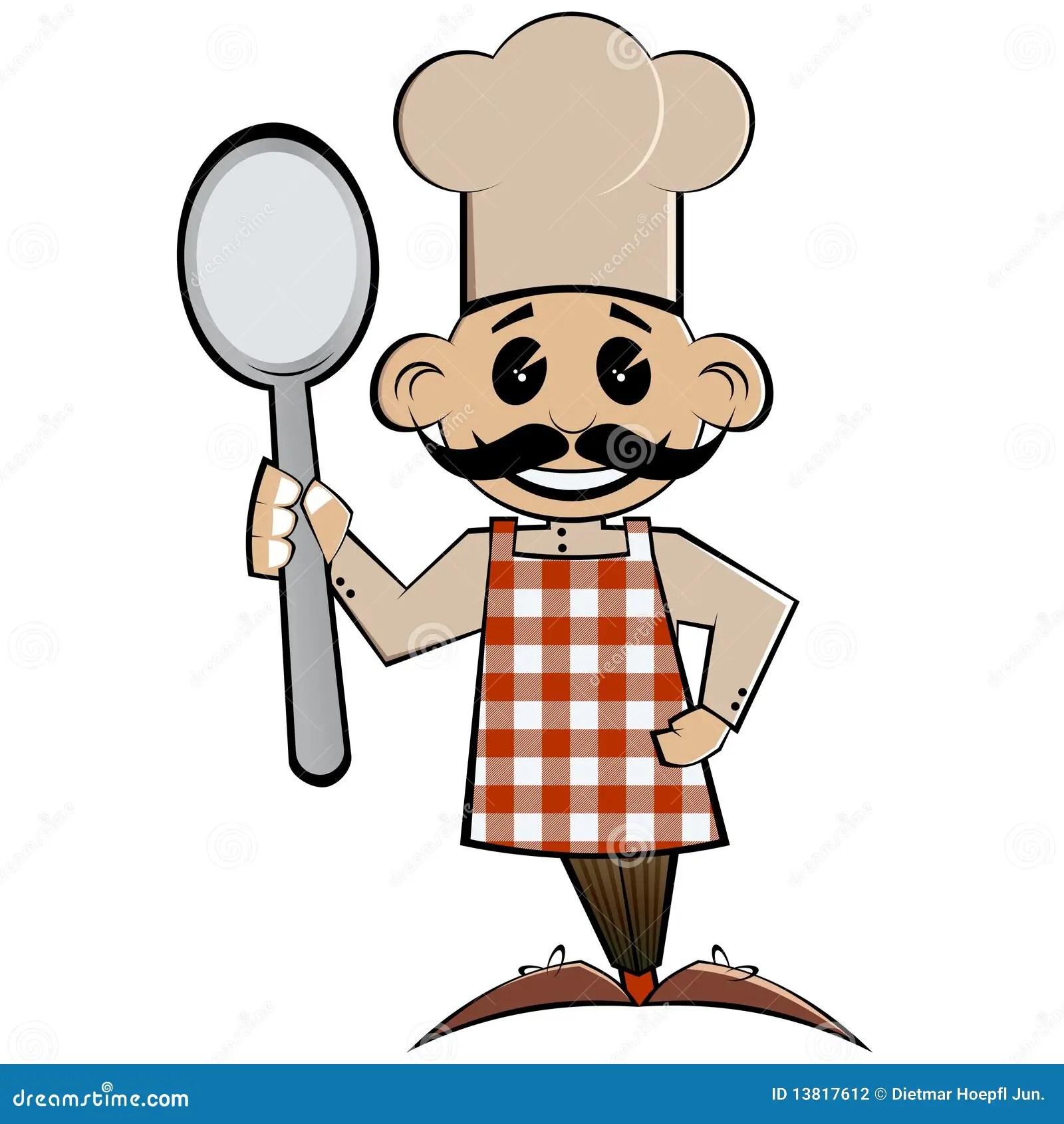 Cartoon Chef Stock Photography Image 13817612