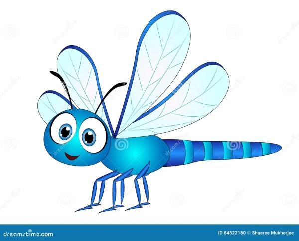 cartoon dragonfly stock illustrations