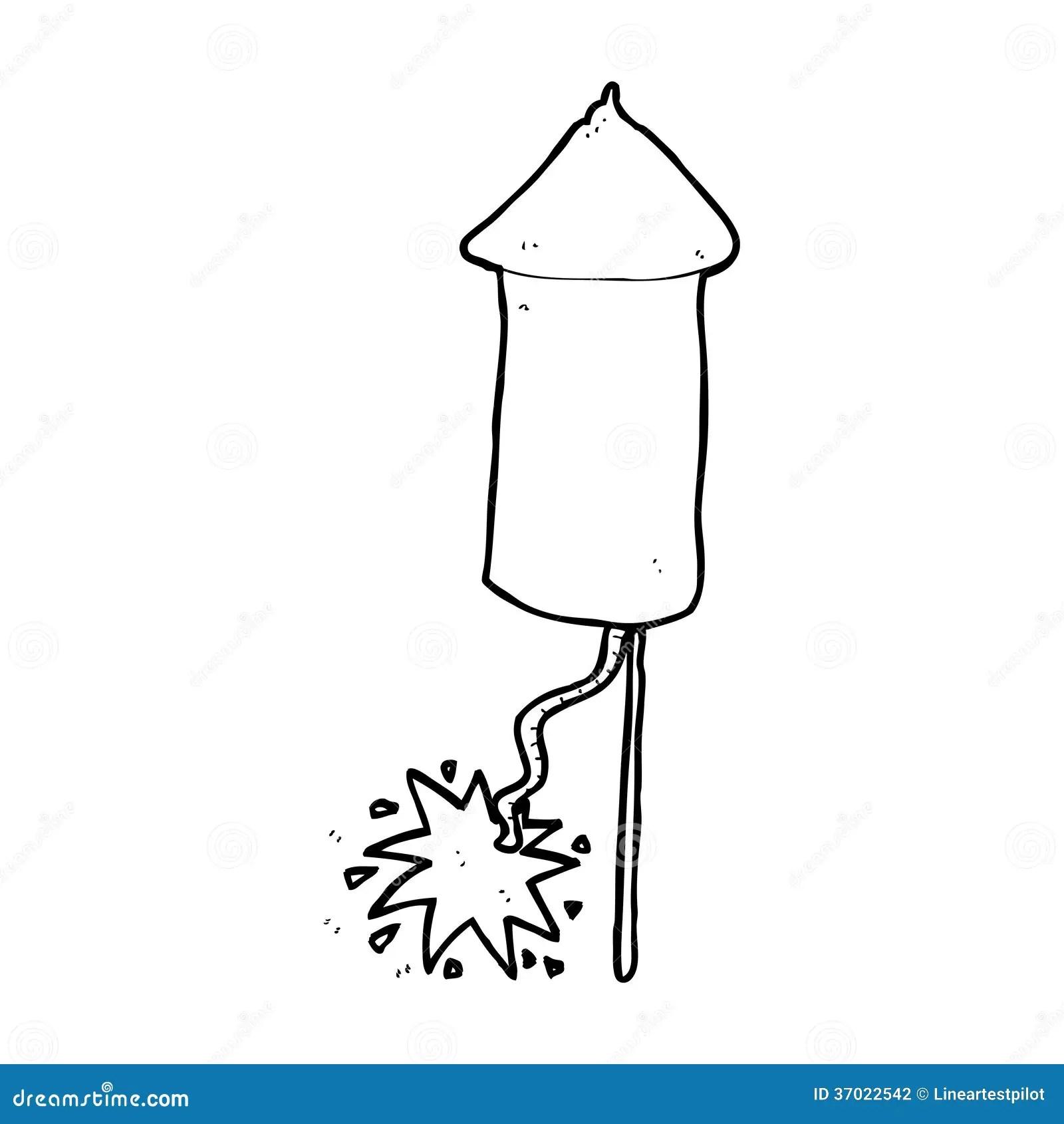 Cartoon Firework Stock Illustration Illustration Of