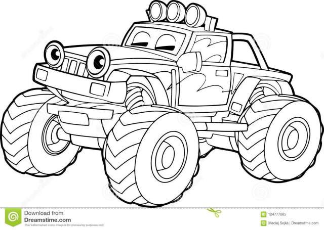 Truck Coloring Stock Illustrations – 9,194 Truck Coloring Stock