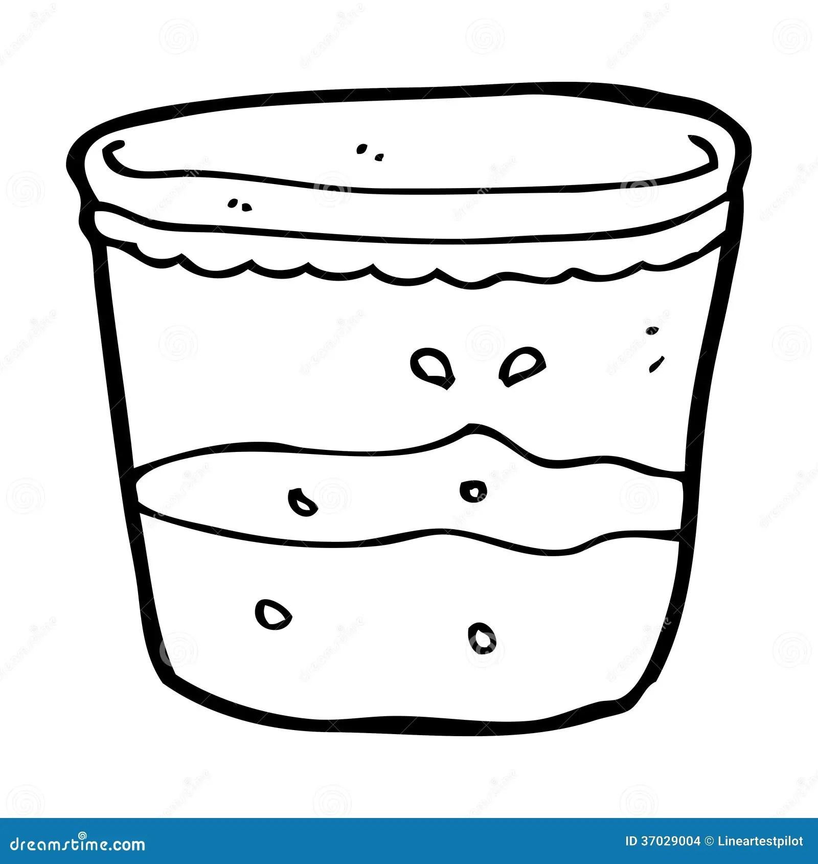 Cartoon Glass Of Rum Stock Illustration Image Of Simple