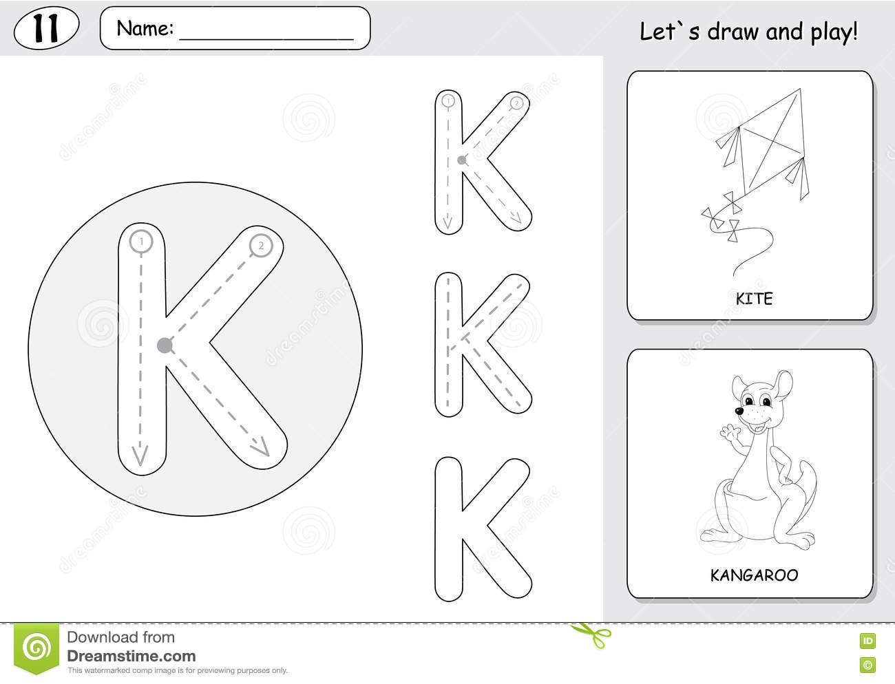 Kites Worksheet