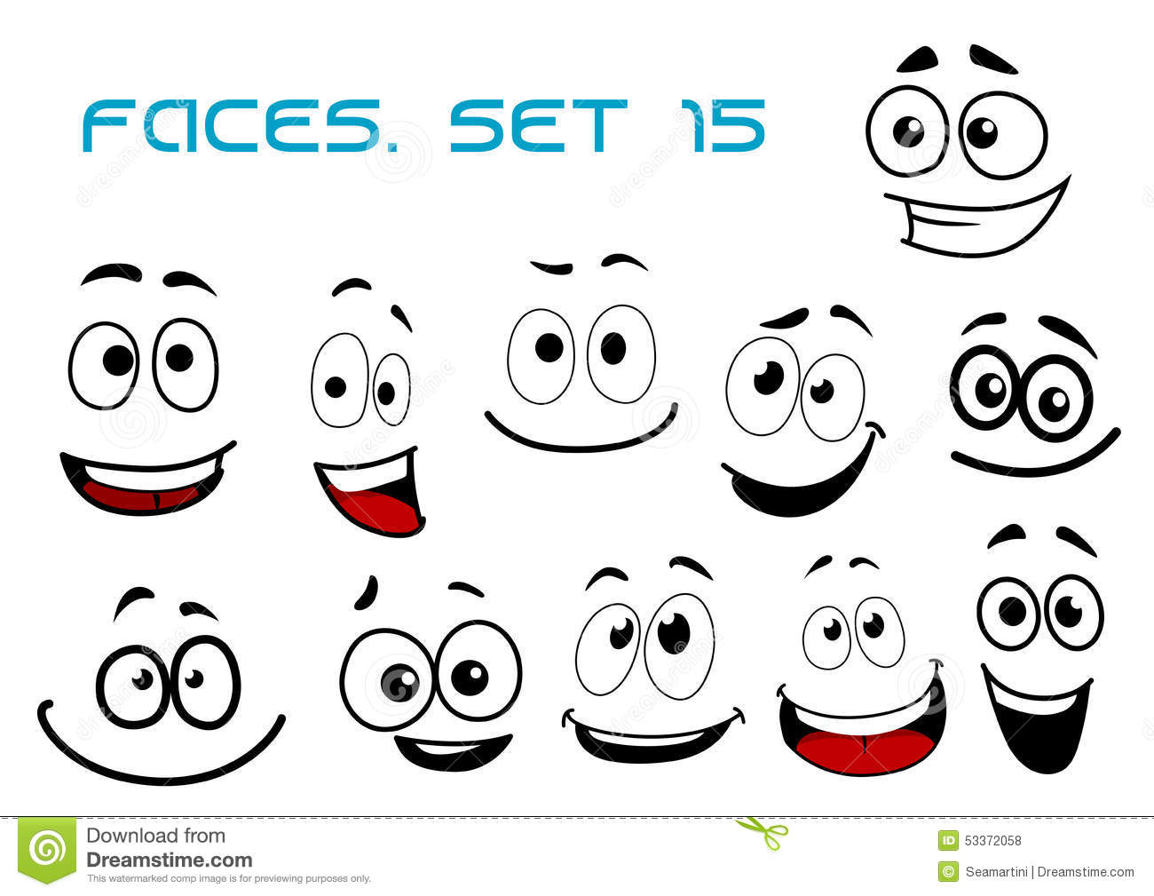 Happy People Faces