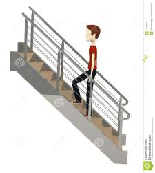 cartoon stairs render 3d preview