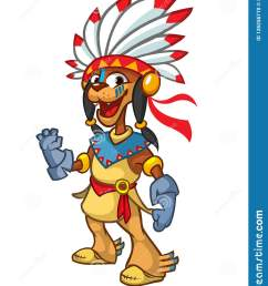 cartoon native american indian character illustration clipart  [ 1233 x 1600 Pixel ]