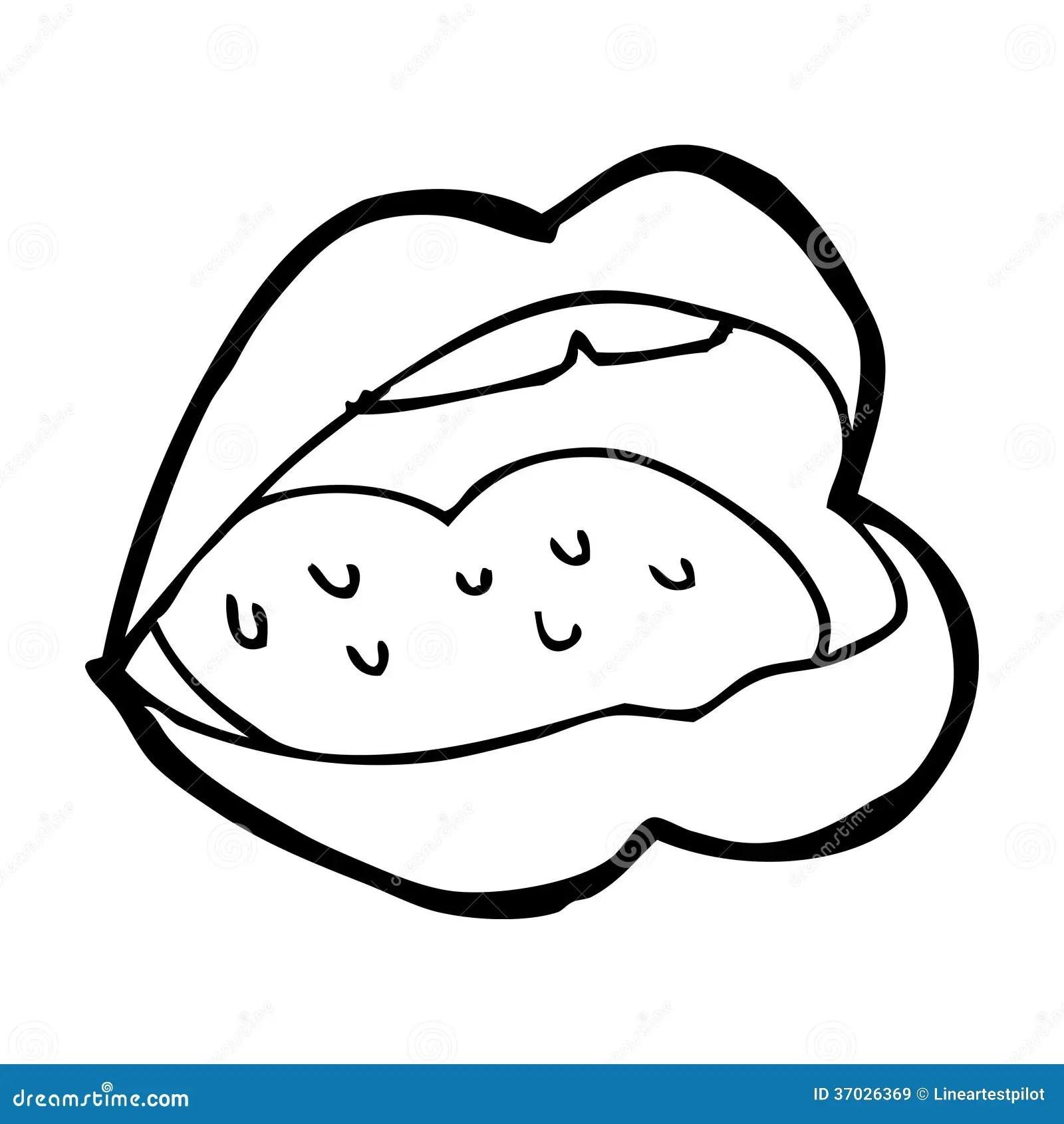 Cartoon Open Mouth Stock Illustration Illustration Of