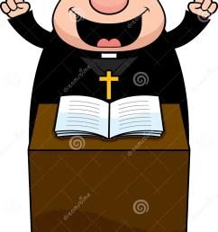 cartoon priest sermon [ 919 x 1300 Pixel ]