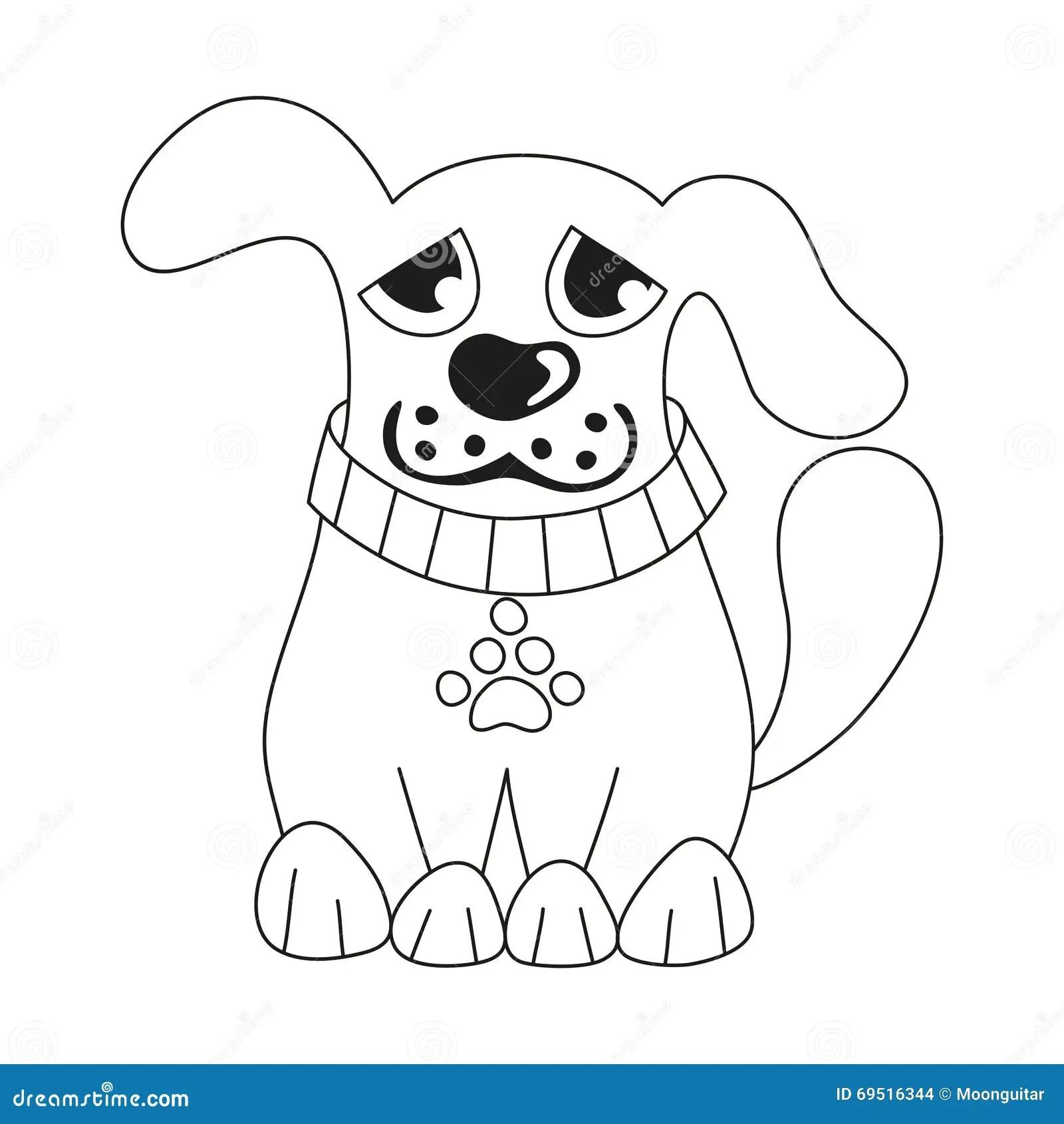 Sad Puppy Coloring Pages Get Sketch Coloring Page