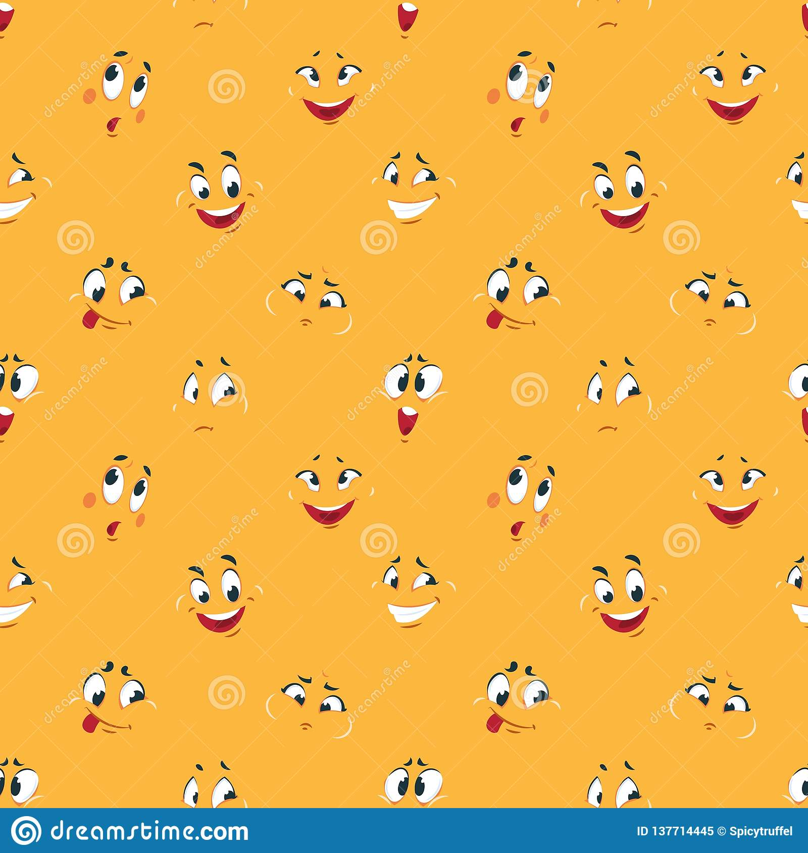 cartoon smiley pattern funny