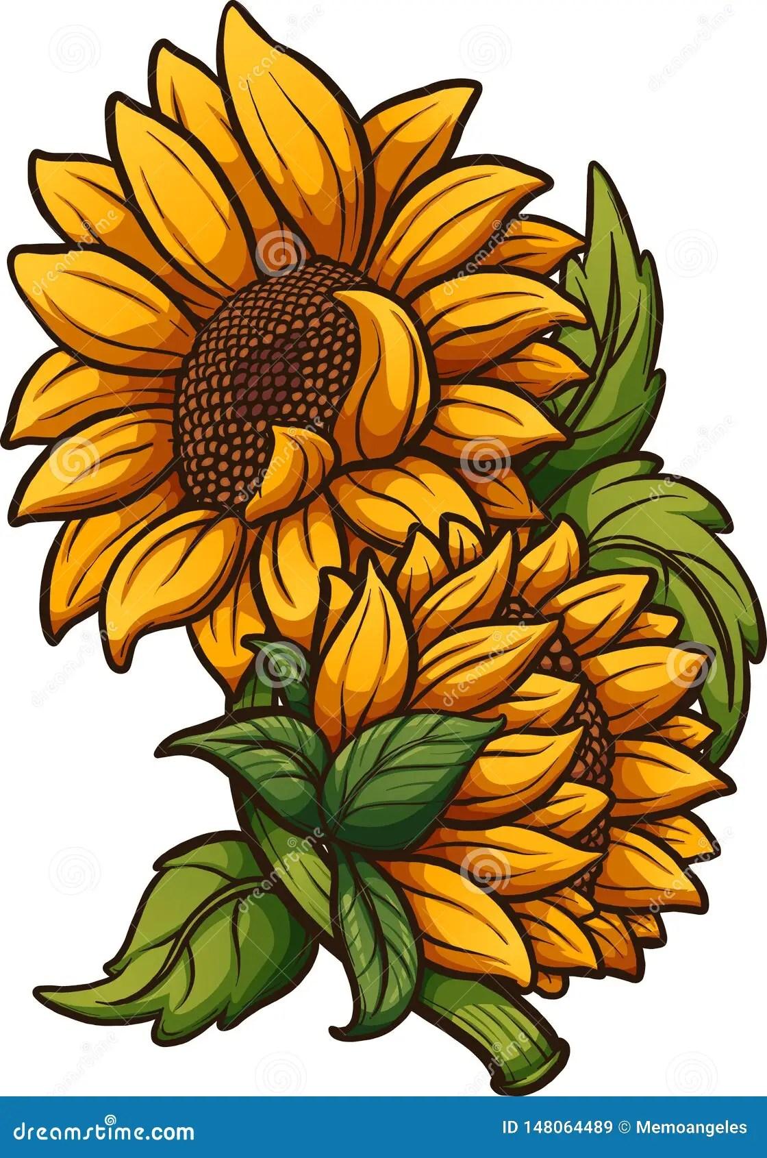 Sunflower Cartoon Drawing : sunflower, cartoon, drawing, Cartoon, Sunflower, Stock, Illustrations, 7,509, Illustrations,, Vectors, Clipart, Dreamstime