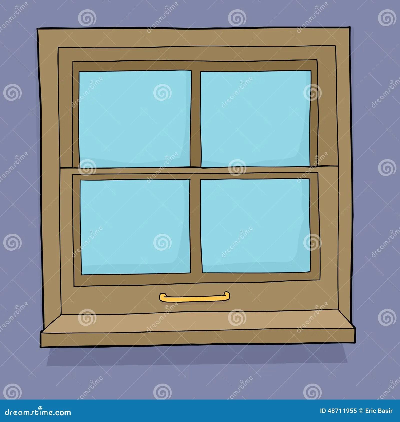 Cartoon Window Stock Illustration