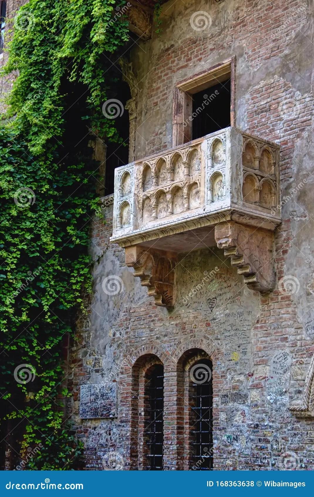 Casa Di Giulietta Verona Italy Editorial Stock Photo Image Of Europe Attraction 168363638