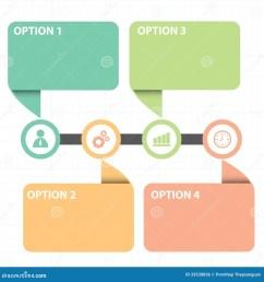 download casella di testo con la linea diagramma di strategia aziendale illustrazione vettoriale illustrazione di [ 1300 x 1390 Pixel ]