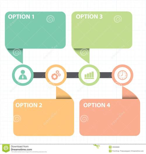 small resolution of download casella di testo con la linea diagramma di strategia aziendale illustrazione vettoriale illustrazione di