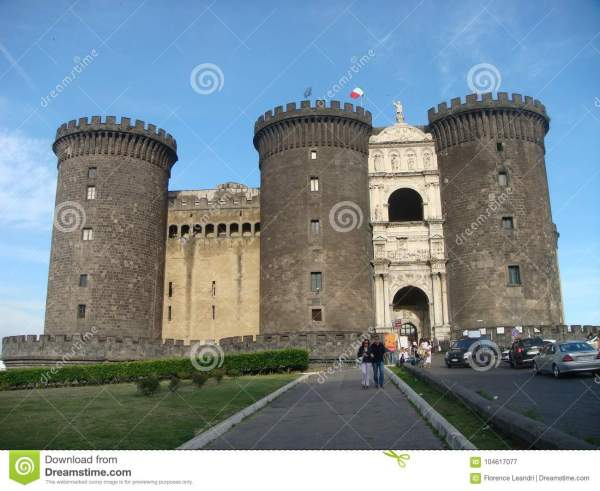 Castel Maschio Angioino Historian Medieval And Renaissance Castle Symbol Of City