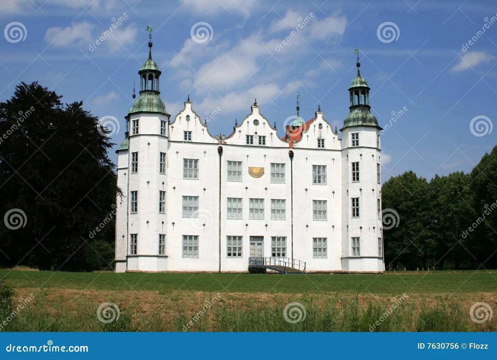 castle ahrensburg stock photo