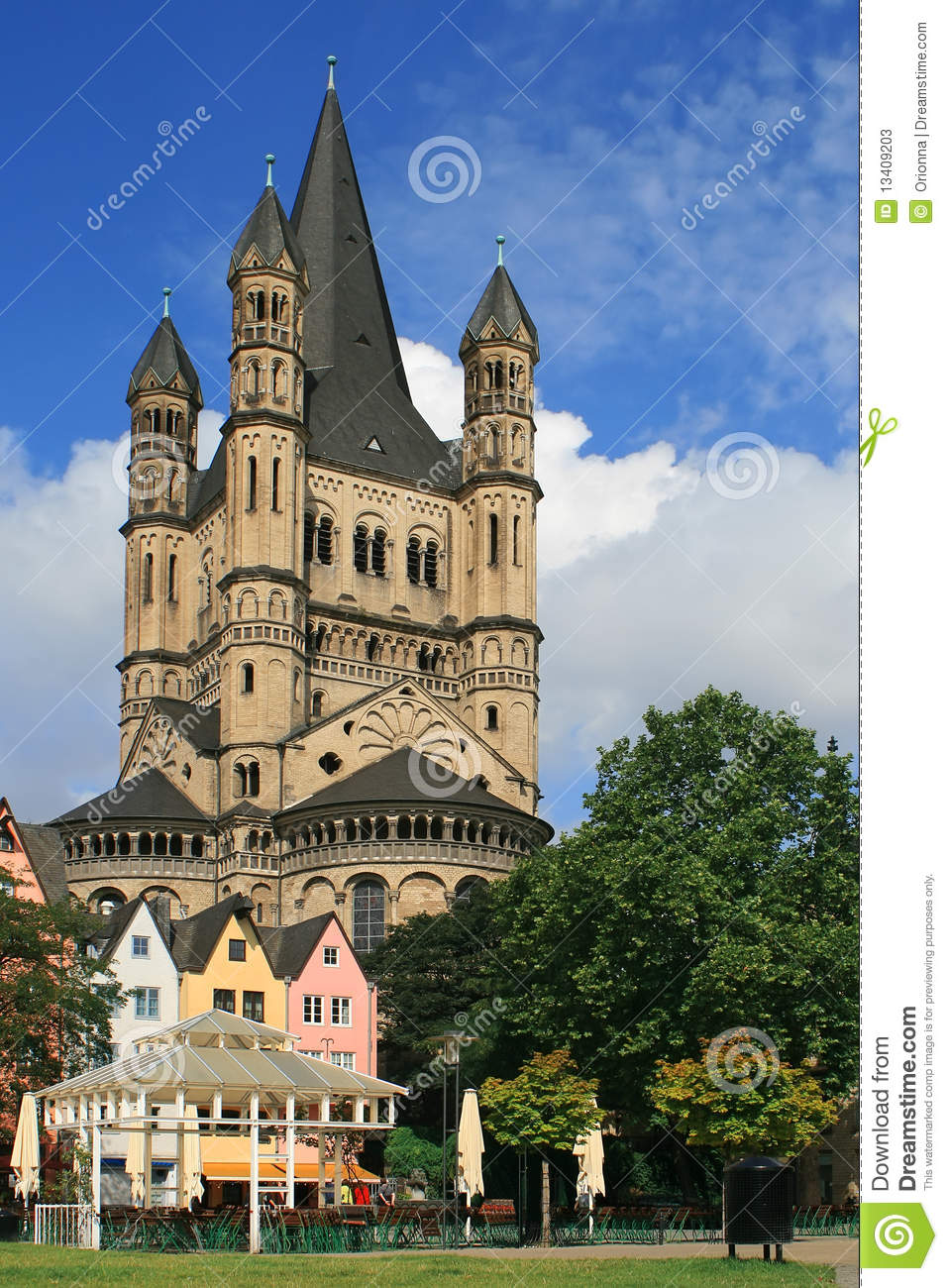 A Castle In Frankfurt Germany Stock Image  Image 13409203