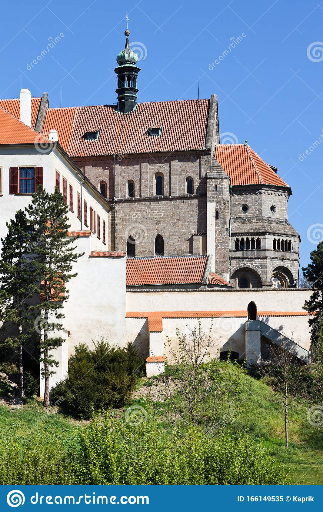 Castle With Museum St Procopius Basilica And Monastery