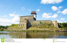Castle In Narva Estonia Stock - 35597234