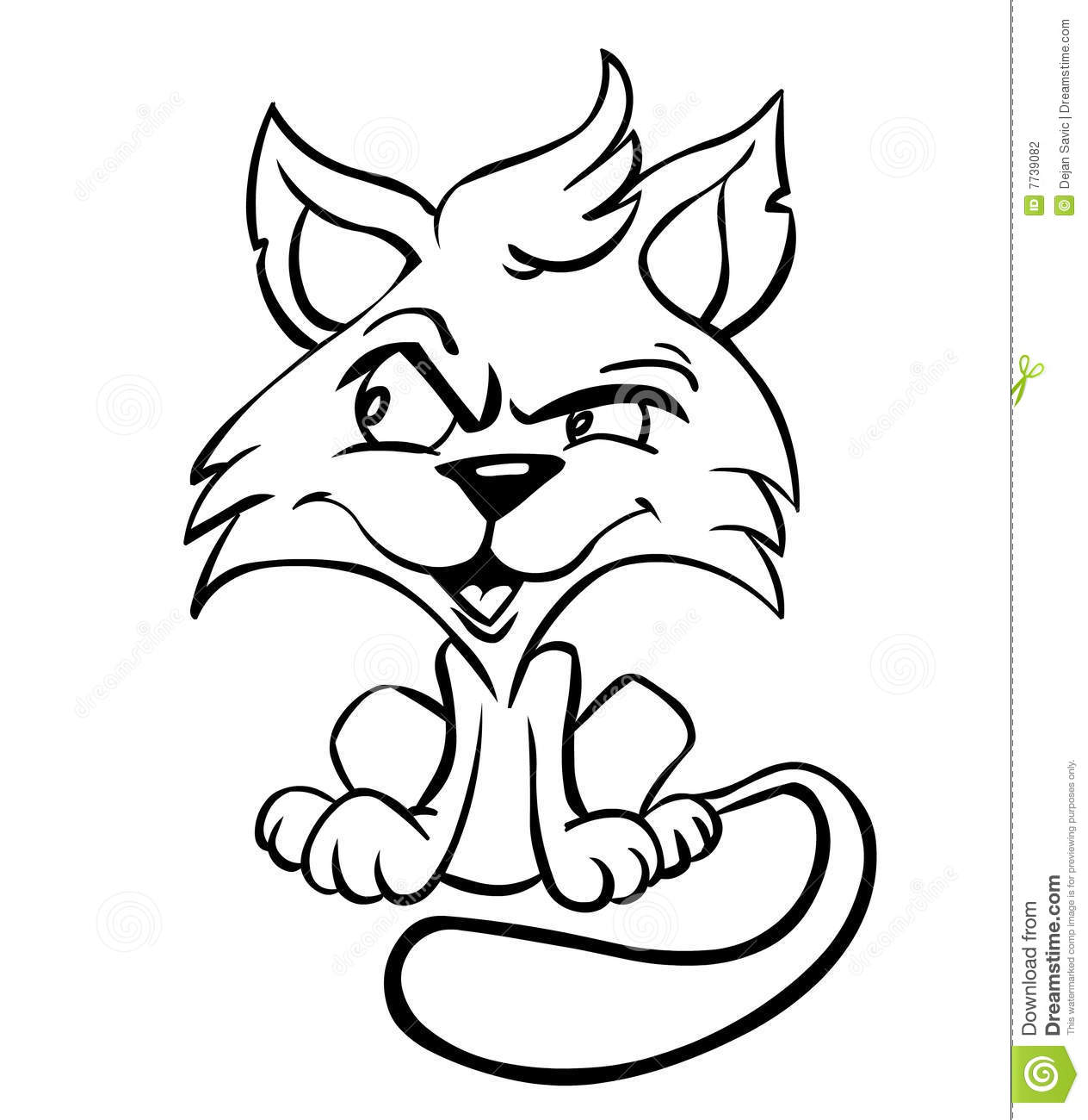 Cat Stock Illustration Illustration Of Animal Cartoon