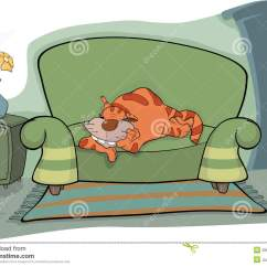 Cat Tunnel Sofa Price Beige On A Stock Photography Image 25675542