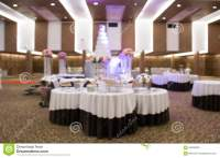 Catering Setup, At Wedding Reception Stock Photo - Image ...