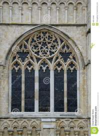 Cathedral Window exterior stock photo. Image of ...