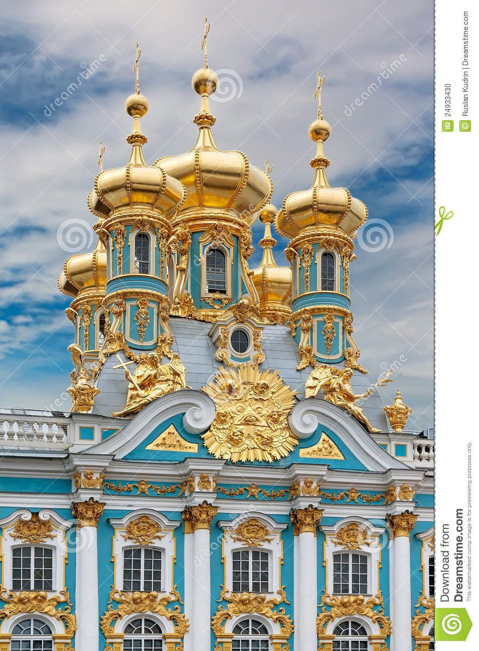 Catherines Palace In Tsarskoe Selo Russia Stock Photo  Image 24933430