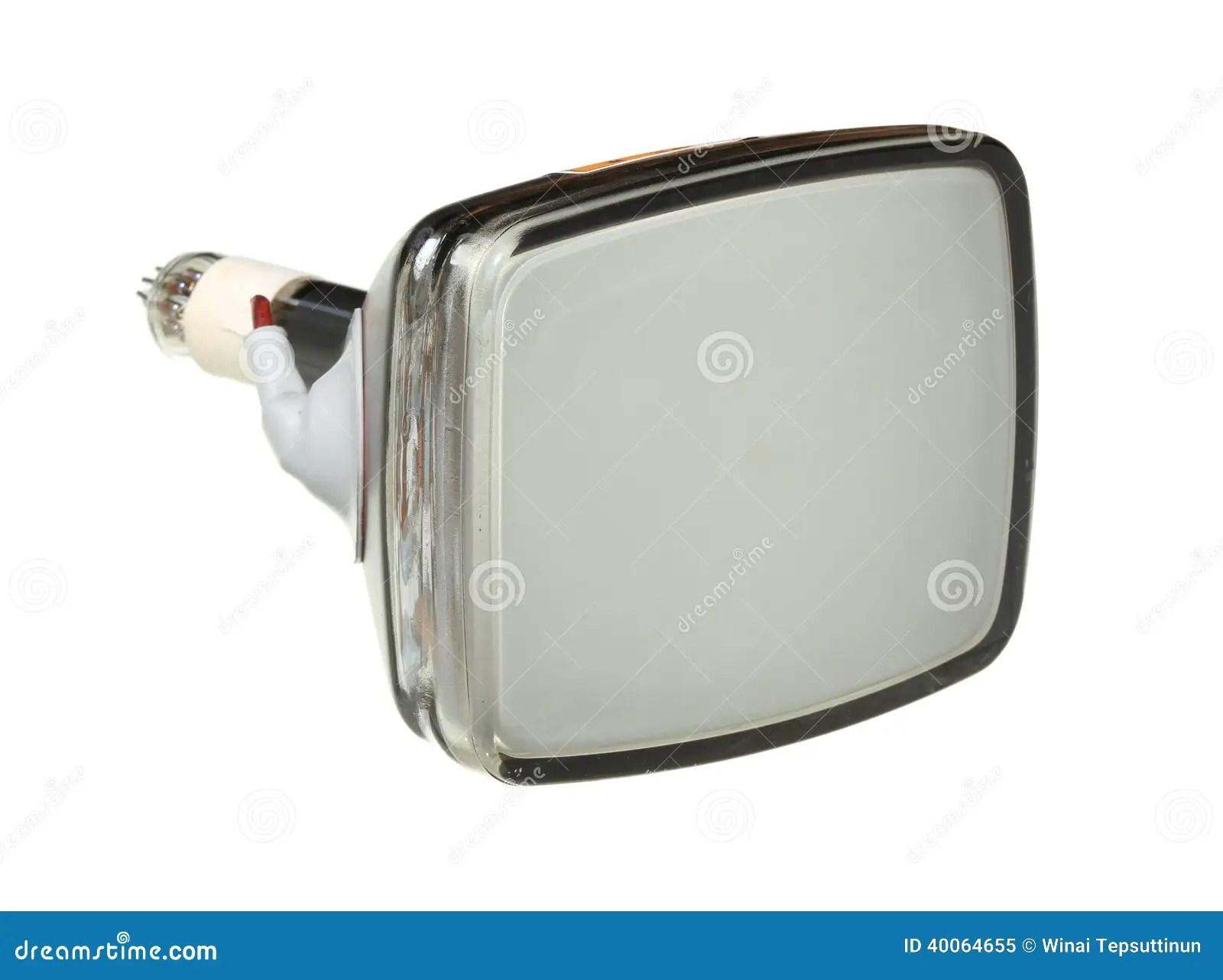 Cathode Ray Tube Stock Photo