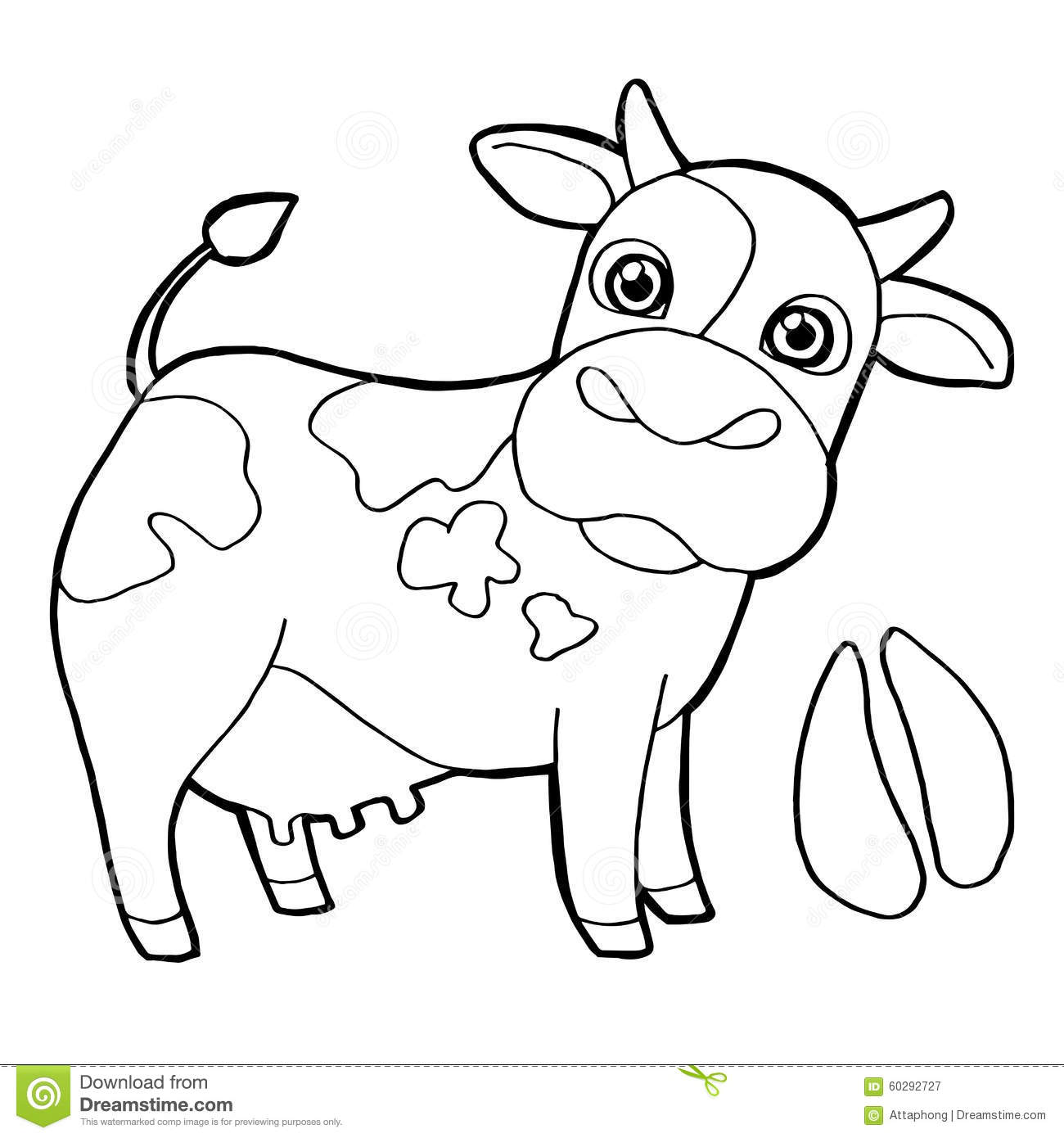 Cattle Ranch Coloring Pages