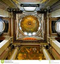 Ceiling dome stock photo. Image of interior, round