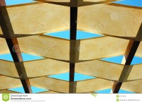 Ceiling of outdoor bar stock photo. Image of outdoor, roof ...