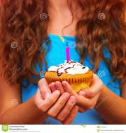 celebrating birthday stock