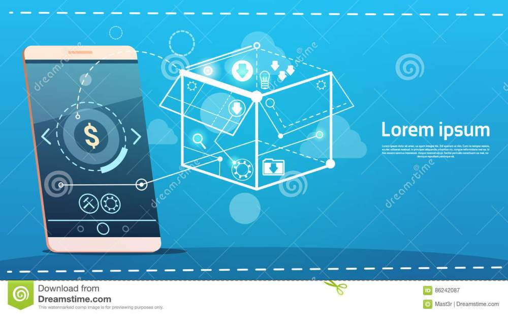 medium resolution of cell smart phone brainstorming briefing idea creative concept business banner