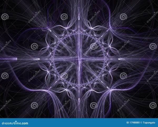 Celtic Art - 3d Fractal Background Stock Illustration
