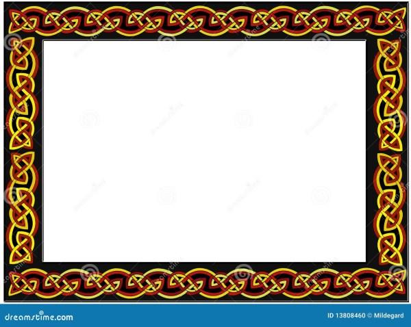 Celtic Frame Stock Illustration. Of Framing