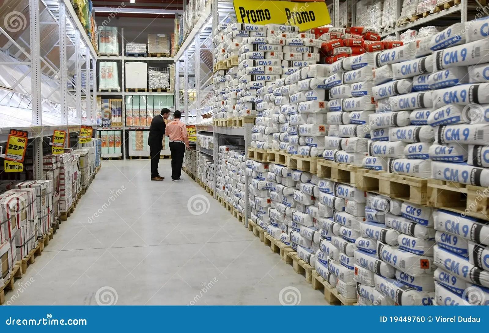 Home Depot Store Shopping