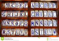 Ceramic Tile Alphabet Royalty Free Stock Image - Image ...