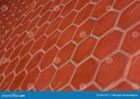 Ceramic Tile Flooring Orange,shooting Angle In Obliquely ...
